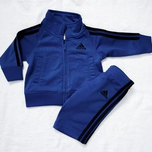 Baby Adidas • Royal Blue Track Suit 3 months